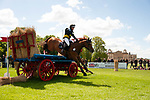 Badminton, Gloucestershire, United Kingdom, 4th May 2019, Louise Romeike riding Wieloch's Utah Sun during the Cross Country Phase of the 2019 Mitsubishi Motors Badminton Horse Trials, Credit:Jonathan Clarke/JPC Images