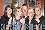 GREETING '08: Sharon McGillicuddy, Debra Regan, Tony O'Sullivan, Shirley Ryan and Teresa O'Sullivan, Killarney, seeing in the New Year in the Fa?ilte Bar, Killarney.   Copyright Kerry's Eye 2008