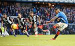 02.02.2019 Rangers v St Mirren: Jermain Defoe scores from the penalty spot