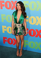 NEW YORK CITY, NY, USA - MAY 12: Lea Michele at the FOX 2014 Programming Presentation held at the FOX Fanfront on May 12, 2014 in New York City, New York, United States. (Photo by Celebrity Monitor)