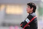 Yasushi Yoshida (Reds), <br /> MAY 4, 2014 - Football /Soccer : <br /> Plenus Nadeshiko League 2014 <br /> between Urawa Reds Ladies 1-3 Okayama Yunogo Belle <br /> at Saitama Urawa Komaba Stadium, Saitama, Japan. <br /> (Photo by AFLO SPORT) [1205]