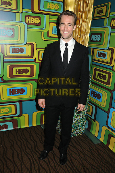 JAMES VAN DER BEEK.HBO 2011 Post Golden Globe Awards Party held at The Beverly Hilton Hotel, Beverly Hills, California, USA..January 16th, 2011.full length black suit.CAP/ADM/BP.©Byron Purvis/AdMedia/Capital Pictures.