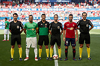 CA Osasuna  during the Spanish <br /> la League soccer match between CA Osasuna and Almeria at Sadar stadium, in Pamplona, Spain, on Saturday, <br /> September 8, 2018.