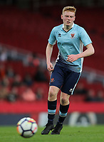 Blackpool U18's Owen Watkinson<br /> <br /> Photographer Andrew Kearns/CameraSport<br /> <br /> Emirates FA Youth Cup Semi- Final Second Leg - Arsenal U18 v Blackpool U18 - Monday 16th April 2018 - Emirates Stadium - London<br />  <br /> World Copyright &copy; 2018 CameraSport. All rights reserved. 43 Linden Ave. Countesthorpe. Leicester. England. LE8 5PG - Tel: +44 (0) 116 277 4147 - admin@camerasport.com - www.camerasport.com