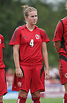 26 August 2007: Connecticut's Kristi Lefebve. The Washington Freedom played the Connecticut Sun in the Hall of Fame Game as part of the National Soccer Hall of Fame Induction Weekend at the National Soccer Hall of Fame in Oneonta, New York.
