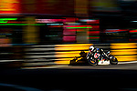 Riders races the Macau Motorcycle Grand Prix during the 61st Macau Grand Prix on November 17, 2014 at Macau street circuit in Macau, China. Photo by Aitor Alcalde / Power Sport Images