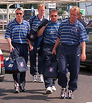 Blues Brothers on tour: Ian Ferguson, Ally McCoist,  Jonas Thern and Erik Bo Andersen