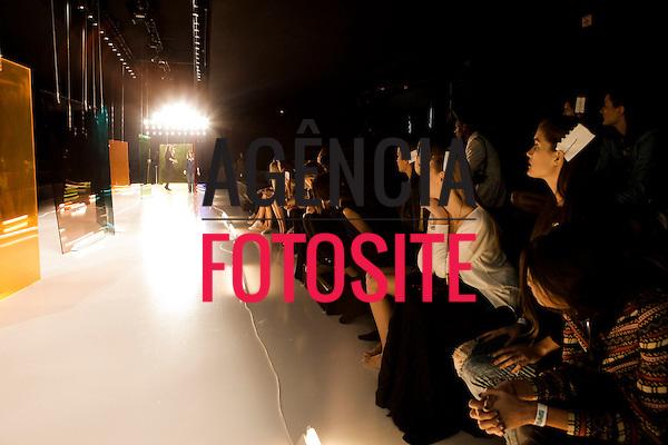 Sao Paulo, Brasil - 03/04/2014 - Backstage  do desfile de Movimento durante o SPFW  - Verao 2015. <br /> Foto : Sergio Caddah/ FOTOSITE