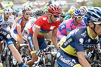 Alberto Contador during the stage of La Vuelta 2012 beetwen Penafiel-La Lastrilla.September 7,2012. (ALTERPHOTOS/Paola Otero) /NortePhoto.com<br /> <br /> **CREDITO*OBLIGATORIO** *No*Venta*A*Terceros*<br /> *No*Sale*So*third* ***No*Se*Permite*Hacer Archivo***No*Sale*So*third