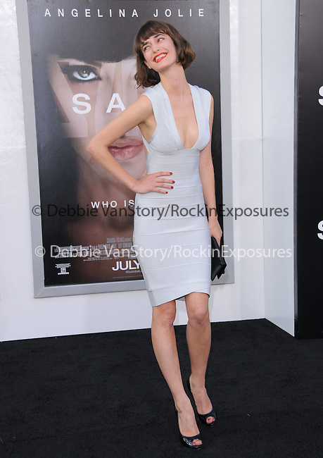 Olya Zueva at the Columbia Pictures' Premiere of SALT held at The Grauman's Chinese Theatre in Hollywood, California on July 19,2010                                                                               © 2010 Debbie VanStory / Hollywood Press Agency