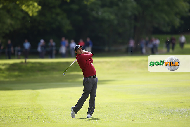 Thomas Aiken (RSA) during Round Two of the 2015 BMW PGA Championship over the West Course at Wentworth, Virginia Water, London. 22/05/2015Picture David Lloyd, www.golffile.ie.