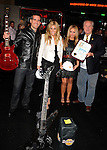 HOLLYWOOD, CA. - October 21: Eric Garcetti - L.A. City Council, Ashley Roberts, Aubrey O'Day,.L.A. City Council - Tom La Bonge arrive at the Hard Rock Cafe - Hollywood - Grand Opening on October 21, 2010 in Hollywood, California.