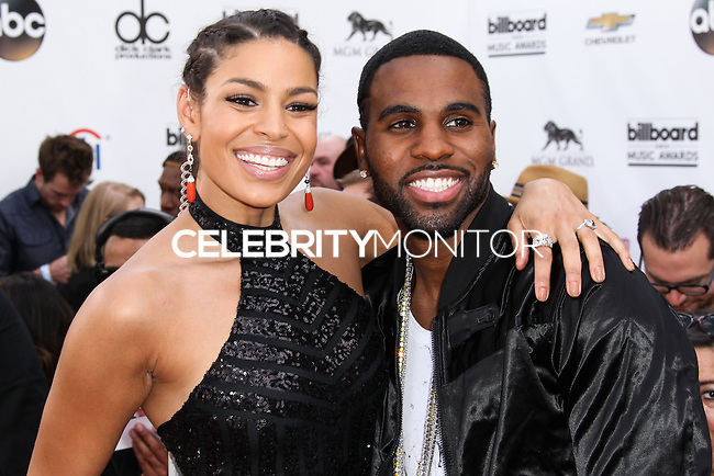 LAS VEGAS, NV, USA - MAY 18: Jordin Sparks, Jason Derulo at the Billboard Music Awards 2014 held at the MGM Grand Garden Arena on May 18, 2014 in Las Vegas, Nevada, United States. (Photo by Xavier Collin/Celebrity Monitor)