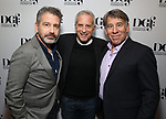 David Cromer, Marc Platt and Stephen Schwartz attends the 2019 DGF Madge Evans And Sidney Kingsley Awards at The Lambs Club on March 18, 2019 in New York City.