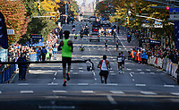 NEW YORK NY - NOVEMBER 03: Elite runners attend the annual New York City Marathon on the 1 avenue on New York City on November 03, 2019.  (Photo by Kena Betancur/VIEWpress)