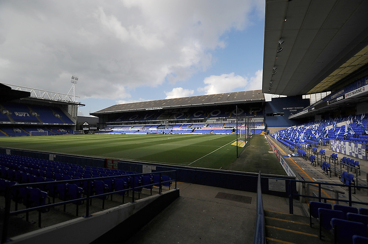 A general view of Portman Road, home of Ipswich Town<br /> <br /> Photographer Hannah Fountain/CameraSport<br /> <br /> The EFL Sky Bet Championship - Ipswich Town v Leeds United - Sunday 5th May 2019 - Portman Road - Ipswich<br /> <br /> World Copyright © 2019 CameraSport. All rights reserved. 43 Linden Ave. Countesthorpe. Leicester. England. LE8 5PG - Tel: +44 (0) 116 277 4147 - admin@camerasport.com - www.camerasport.com