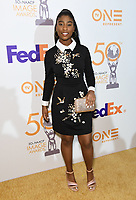 09 March 2019 - Hollywood, California - Lyric Ross. 50th NAACP Image Awards Nominees Luncheon held at the Loews Hollywood Hotel.  <br /> CAP/ADM/BT<br /> &copy;BT/ADM/Capital Pictures
