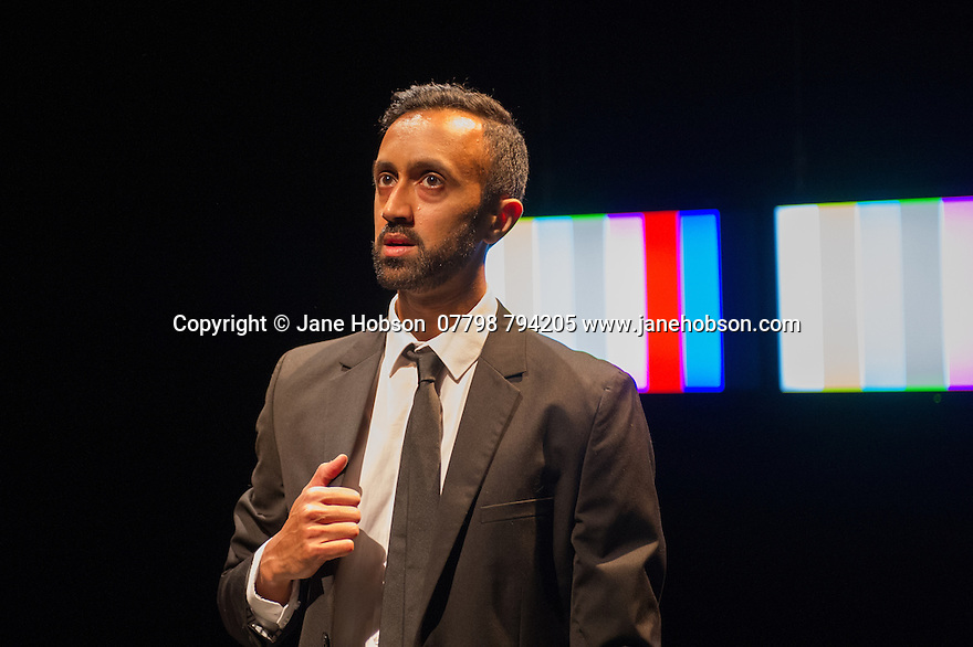 London, UK. 20.05.2014. Sadler's Wells New Wave Associate Artist, Hetain Patel, presents AMERICAN BOY, in the Lilian Baylis Studio. Photograph © Jane Hobson.