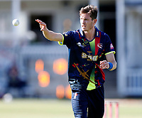 Adam Milne prepares to bowl for Kent during the Vitality Blast T20 game between Kent Spitfires and Gloucestershire at the St Lawrence Ground, Canterbury, on Sun Aug 5, 2018