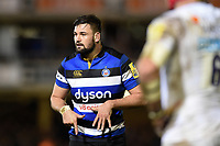 Elliott Stooke of Bath Rugby. Aviva Premiership match, between Bath Rugby and Wasps on December 29, 2017 at the Recreation Ground in Bath, England. Photo by: Patrick Khachfe / Onside Images