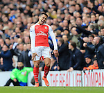 Arsenal's Alexis Sanchez looks on dejected<br /> <br /> - English Premier League - Tottenham Hotspur vs Arsenal  - White Hart Lane - London - England - 5th March 2016 - Pic David Klein/Sportimage