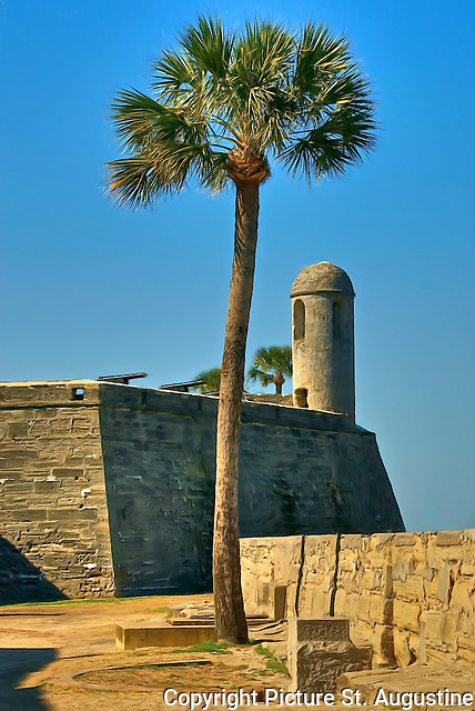 Castillo de San Marcos National Monument - in historic downtown St. Augustine, Florida