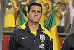 06 June 2008: Brazil assistant coach Jorginho (BRA). The Venezuela Men's National Team defeated the Brazil Men's National Team 2-0 at Gillette Stadium in Foxboro, Massachusetts in an international friendly soccer match.