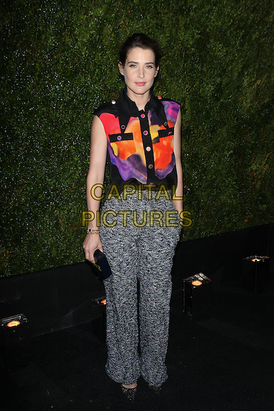 NEW YORK, NY - APRIL 20: Cobie Smulders  at the 2015 Tribeca Film Festival Chanel artists dinner at Balthazar on April 20, 2015 in New York City.<br /> CAP/MPI/COR99<br /> &copy;COR99/MPI/Capital Pictures