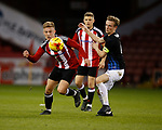 Harvey Gilmour of Sheffield Utd during the U18 Professional Development League 2 play off semi final match at  Bramall Lane, Sheffield. Picture date: April 21st 2017. Pic credit should read: Simon Bellis/Sportimage