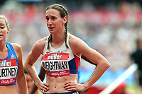 Laura Weightman of Great Britain after competing in the womenís one mile during the Muller Anniversary Games at The London Stadium on 9th July 2017