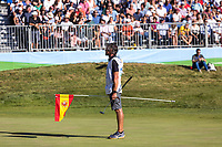 Caddy Nick momford during the third round of the Mutuactivos Open de Espana, Club de Campo Villa de Madrid, Madrid, Madrid, Spain. 05/10/2019.<br /> Picture Hugo Alcalde / Golffile.ie<br /> <br /> All photo usage must carry mandatory copyright credit (© Golffile | Hugo Alcalde)