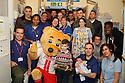 Stevenage FC players visit Lister Hospital Children's ward.  <br />  - Lister Hospital, Stevenage - 18th December, 2013<br />  &copy; Kevin Coleman 2013