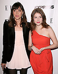 "Anna Kendrick and Aubrey Plaza attends the ELLE and Express ""25 at 25"" Event held at The Palihouse Holloway in West Hollywood, California on October 07,2010                                                                               © 2010 Hollywood Press Agency"
