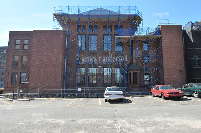 Bridgeport Courthouse GA 2 Renovations. Replace Roof and Masonry Repairs CT Dept of Public Works Project # BI-JD-305. First Progress Photography Shoot: 25 May 2011