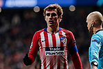Atletico de Madrid's Antoine Griezmann during UEFA Champions League match between Atletico de Madrid and AS Monaco at Wanda Metropolitano Stadium in Madrid, Spain. November 28, 2018. (ALTERPHOTOS/A. Perez Meca)