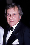Ken Kercheval attends a Broadway show on September 1, 1985  in New York City.
