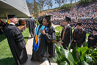 Occidental College Commencement on Sunday, May 18, 2014 at the Remsen Bird Hillside Theater. (Photo by Marc Campos, Occidental College Photographer)