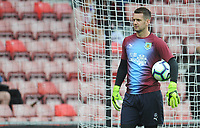 Burnley's Thomas Heaton during the pre-match warm-up <br /> <br /> Photographer Kevin Barnes/CameraSport<br /> <br /> The Premier League - Southampton v Burnley - Sunday August 12th 2018 - St Mary's Stadium - Southampton<br /> <br /> World Copyright &copy; 2018 CameraSport. All rights reserved. 43 Linden Ave. Countesthorpe. Leicester. England. LE8 5PG - Tel: +44 (0) 116 277 4147 - admin@camerasport.com - www.camerasport.com
