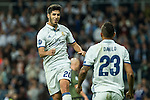 Real Madrid's Marco Asensio during the match of UEFA Champions League group stage between Real Madrid and Legia de Varsovia at Santiago Bernabeu Stadium in Madrid, Spain. October 18, 2016. (ALTERPHOTOS/Rodrigo Jimenez)