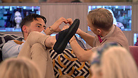 Andrew Brady &amp; Shane Jenek - AKA Courtney Act<br /> Celebrity Big Brother 2018 - Day 10<br /> *Editorial Use Only*<br /> CAP/KFS<br /> Image supplied by Capital Pictures
