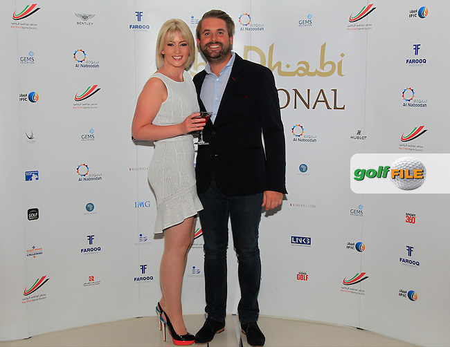 Matthew Baldwin during the 2015 Abu Dhabi Invitational Gala Evening held at The Viceroy Hotel, Yas Island, Abu Dhabi.: Picture Eoin Clarke, www.golffile.ie: 1/25/2015