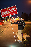 Dennis Smith election night