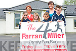 The annaul Farran4miler is scheduled to take place this Friday, June 13th and is open to all running abilities. <br /> Front L-R Katie Fitzgerald, Chloe Deniel, Luke Henderson and Michael Moynihan. <br /> Back L-R Claire Callaghan and Fiona Walshe of the Farranfore Parents Association.