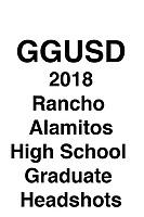 GGUSD 2018 Rancho Alamitos HS Grad headshots