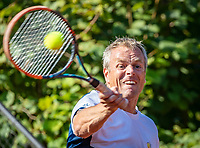 Hilversum, The Netherlands, September 2, 2018,  Tulip Tennis Center, NKS, National Championships Seniors, Men's  40+ final: Ferdinand Forger (NED)<br />