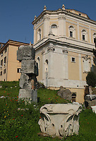 Chiesa Santa Maria in Campitelli. A view of the church of Santa Maria in Campitelli in Rome, Italy..