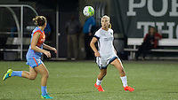 Portland, OR - Wednesday Sept. 07, 2016: Lindsey Horan during a regular season National Women's Soccer League (NWSL) match between the Portland Thorns FC and the Houston Dash at Providence Park.