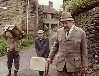 BNPS.co.uk (01202 558833)<br /> Pic: BBC<br /> <br /> PICTURED: Michael Aldridge (right) staring in Last of the Summer Wine<br /> <br /> The charming former home of beloved comedy actor Michael Aldridge has emerged on the market for £2.7million.<br /> <br /> Aldridge, who starred in the popular BBC sitcom Last of the Summer Wine, spent his final years in this Grade II listed Georgian townhouse in Greenwich, south east London.<br /> <br /> He appeared as the retired headmaster and budding inventor Seymour Utterthwaite from 1986 to 1990. The actor, who was also a star of the stage, died in 1994. <br /> <br /> Built in the early 18th century, the five bedroom home is set over four floors and offers views of Greenwich Park. It is being sold with estate agent Hamptons International.