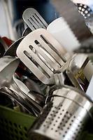 Belo Horizonte_MG, Brasil...Colheres utilizadas no Festival Gastronomico Sabor e Saber...Spoons used in the Gastronomy Festival Sabor e Saber...Foto: BRUNO MAGALHAES / NITRO..