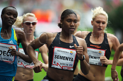 23 08 2010  Berlin 22 08 2010 ISTAF 2010 800m Women Caster  RSA women Athletics Berlin ISTAF